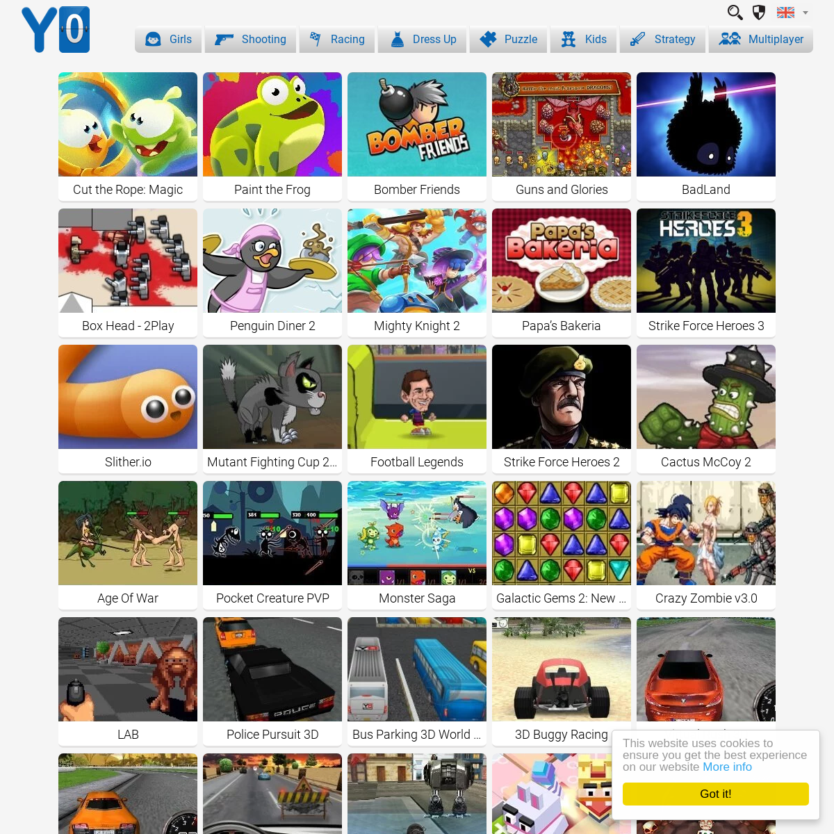 Y0 Games They include new y games such as uno online and top y. archivebay com