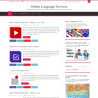 Online Language Services - Teaching English; Idioms, Proverbs, Vocabulary, Grammar, Speaking , Reading, Listening, Writing