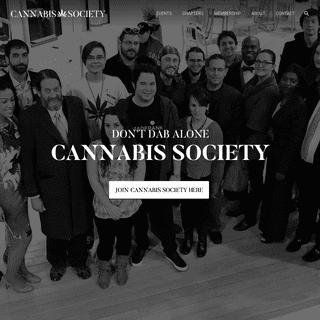 Marijuana Events by Cannabis Society