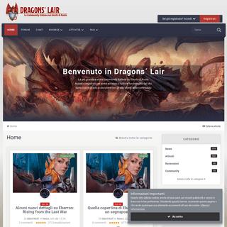 ArchiveBay.com - dragonslair.it - Dragons' Lair- Community sui Giochi di Ruolo