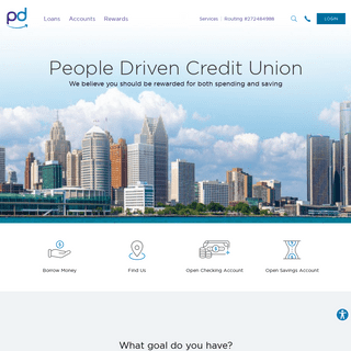 People Driven Credit Union - People Driven Credit Union