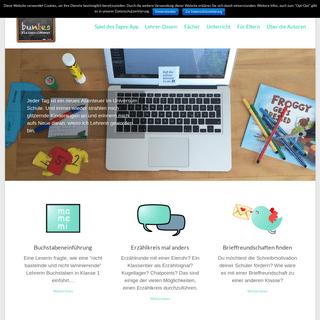 Lehrerblog - Buntes Klassenzimmer