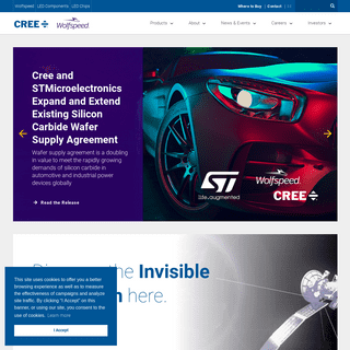 SiC & GaN Power, RF Solutions and LED Technology - Cree, Inc
