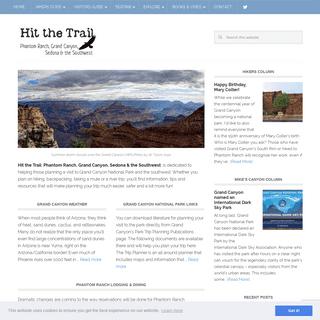 Hit the Trail at Grand Canyon - Phantom Ranch, Grand Canyon, Sedona and the Southwest
