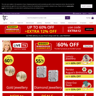 TJC - Jewellery, Beauty, Lifestyle & Fashion Accessories Online in UK