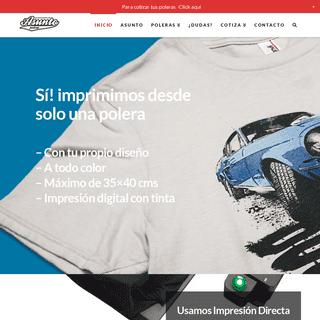 Asunto Polera - Estampado de Poleras mediante Impresión Digital - asuntopolera.com