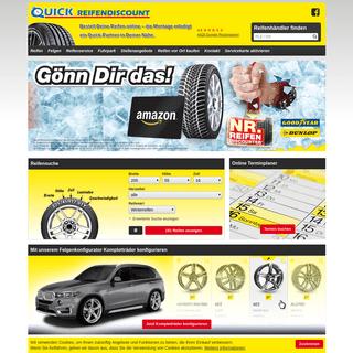 Quick Reifendiscount - Reifen günstig vom Fachmann kaufen