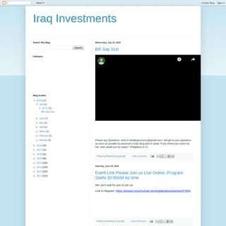 Iraq Investments