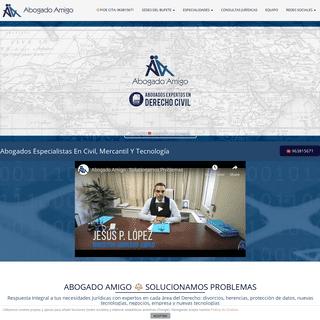 ABOGADO AMIGO ⚖️- Despacho de Abogados Derecho Civil, Mercantil y TICS