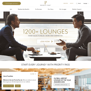 Airport Lounge Access Worldwide - Priority Pass