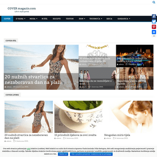 COVER magazin.com – Life & style portal