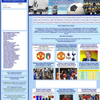 ArchiveBay.com - myfootballfacts.com - My Football Facts & Stats