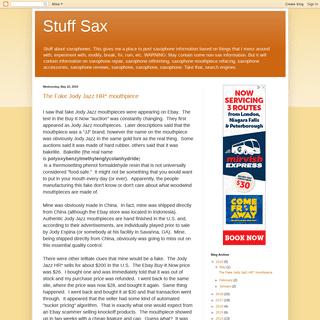 Stuff Sax