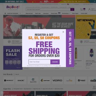 Best Vape Shop Online & Small Consumer Electronics Online