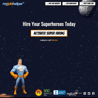 MyJobHelper.com- Search for Jobs - Hire