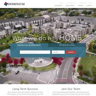 ArchiveBay.com - dominiumapartments.com - Dominium Apartments