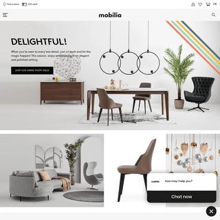 Canadian Modern Furniture Store - Mobilia
