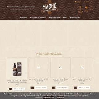 Aceite para Barba - Macho Beard Company