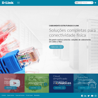 D-Link - Soluções Smart Home, SMB e Corporativa