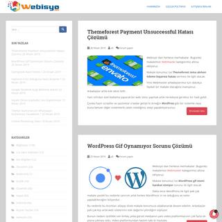 Webisyo - Bilgi Paylaşım Ekranı ! – Bilişim Teknolojileri