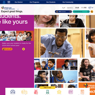 Pittsburgh Public Schools - Homepage