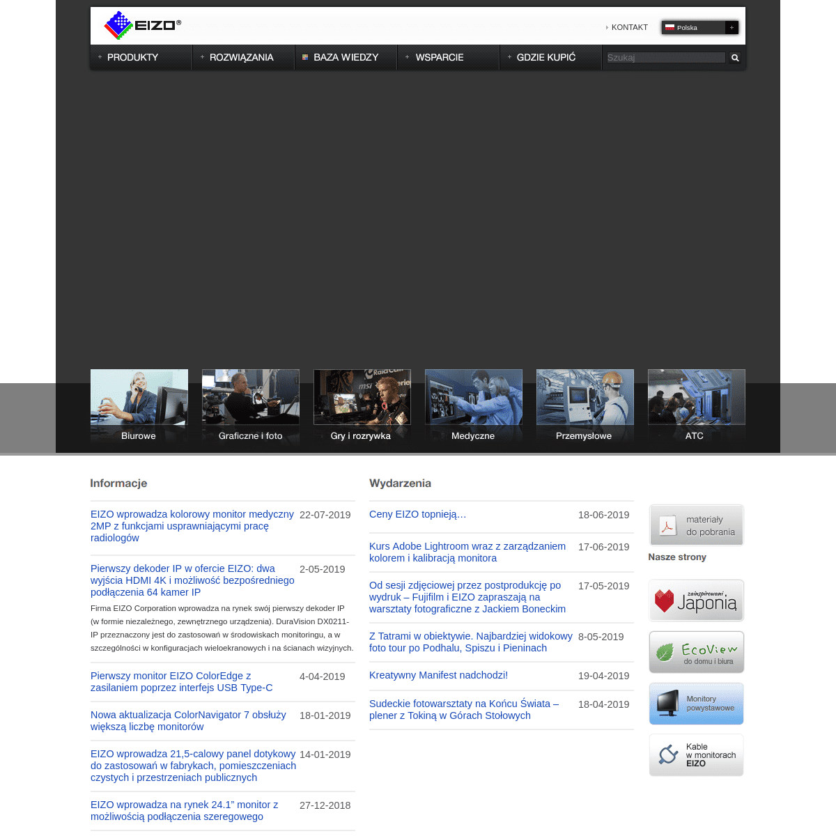 EIZO Polska - Oficjalna strona