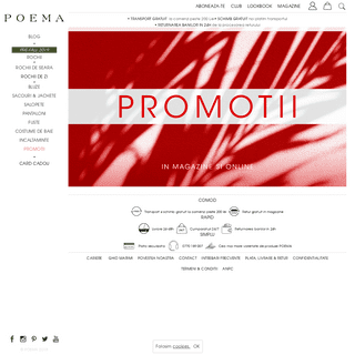 Magazin Online POEMA- Haine dama, casual, office sau elegante