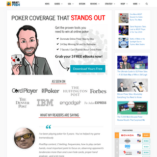 Beat The Fish- Honest Online Poker Site Reviews and Strategy
