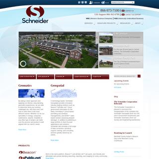 Home - Schneider Corp