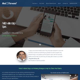 MedForward - Medical Website Design and Secure Online Forms