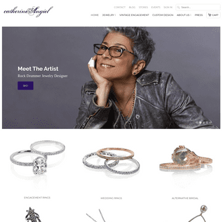 ArchiveBay.com - catherineangiel.com - Vintage Engagement Rings NYC - Catherine Angiel