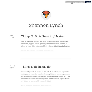 ArchiveBay.com - shannon-lynch-travel-blog.tumblr.com - Shannon Lynch
