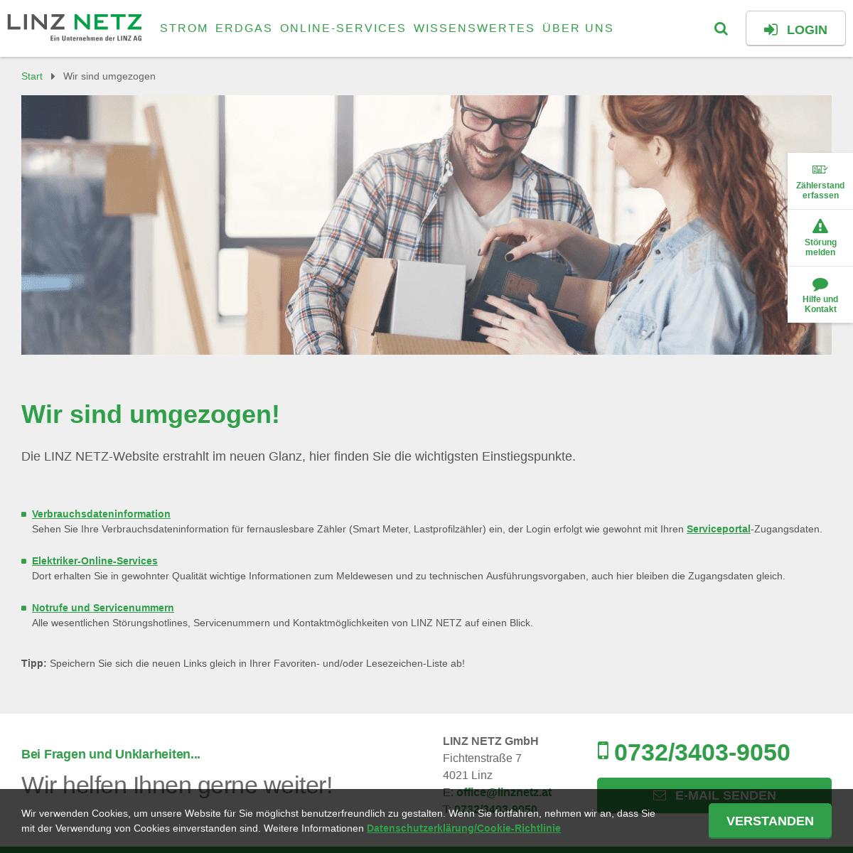 ArchiveBay.com - linz-stromnetz.at - Relaunch der LINZ NETZ-Website