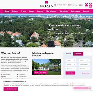 ArchiveBay.com - estata.nl - Estata Makelaars O.G. makelaar in Den Haag voor koopwoningen en huurwoningen