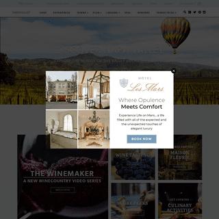 Napa Valley - Explore Napa Valley Online
