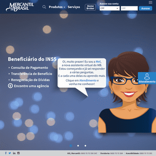 ArchiveBay.com - mercantildobrasil.com.br - Home - Banco Mercantil