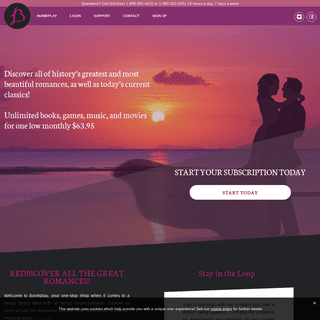 Boinkplay offers a complete romance media library