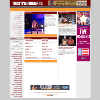 Theatre In Chicago - Your Source For Plays In Chicago - Chicago Plays
