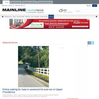 ArchiveBay.com - mainlinemedianews.com - mainlinemedianews.com - Serving the Main Line from Bala Cynwyd to Malvern