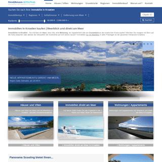 Immobilien Kroatien - nur mit Meerblick - Panorama Scouting GmbH