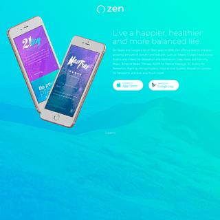 ArchiveBay.com - app-zen.com - Zen App - Live a happier, healthier and more balanced life.