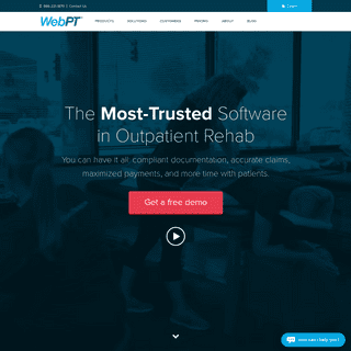 The Leading Physical Therapy Software - WebPT