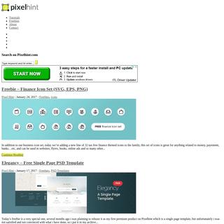 ArchiveBay.com - pixelhint.com - Pixelhint - Web Design Tutorials and Free Website Templates That Doesn't Suck -
