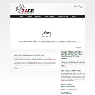 ZACR - ZA CENTRAL REGISTRY