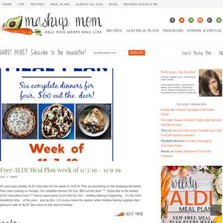 Mashup Mom - Real food meets real life