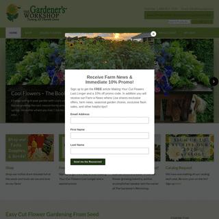 ArchiveBay.com - thegardenersworkshop.com - The Gardener's Workshop - Easy Cut-Flower Gardening from Seed