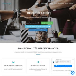 Didousoft - Plateforme numérique d'enseignement et de communication à distance