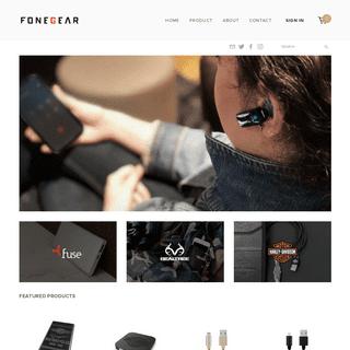 A complete backup of fonegear.com