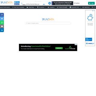 FunData - Your destination for Stock Market Fundamental Analysis