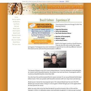ArchiveBay.com - brazilcultureandtravel.com - Brazil Culture and Travel - Experience the amazing culture of Brazil